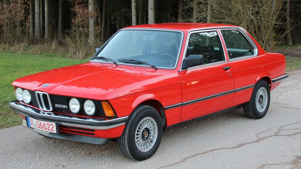 Einige BMW�s eingetroffen E30 u E21